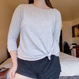 Comfy Tie Sweatshirt